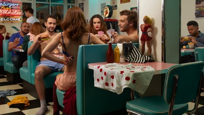 Extreame strip poker